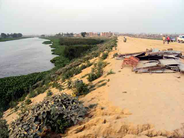 hindon river in crisis