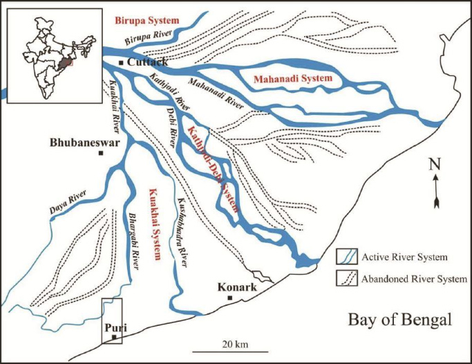 river map puri